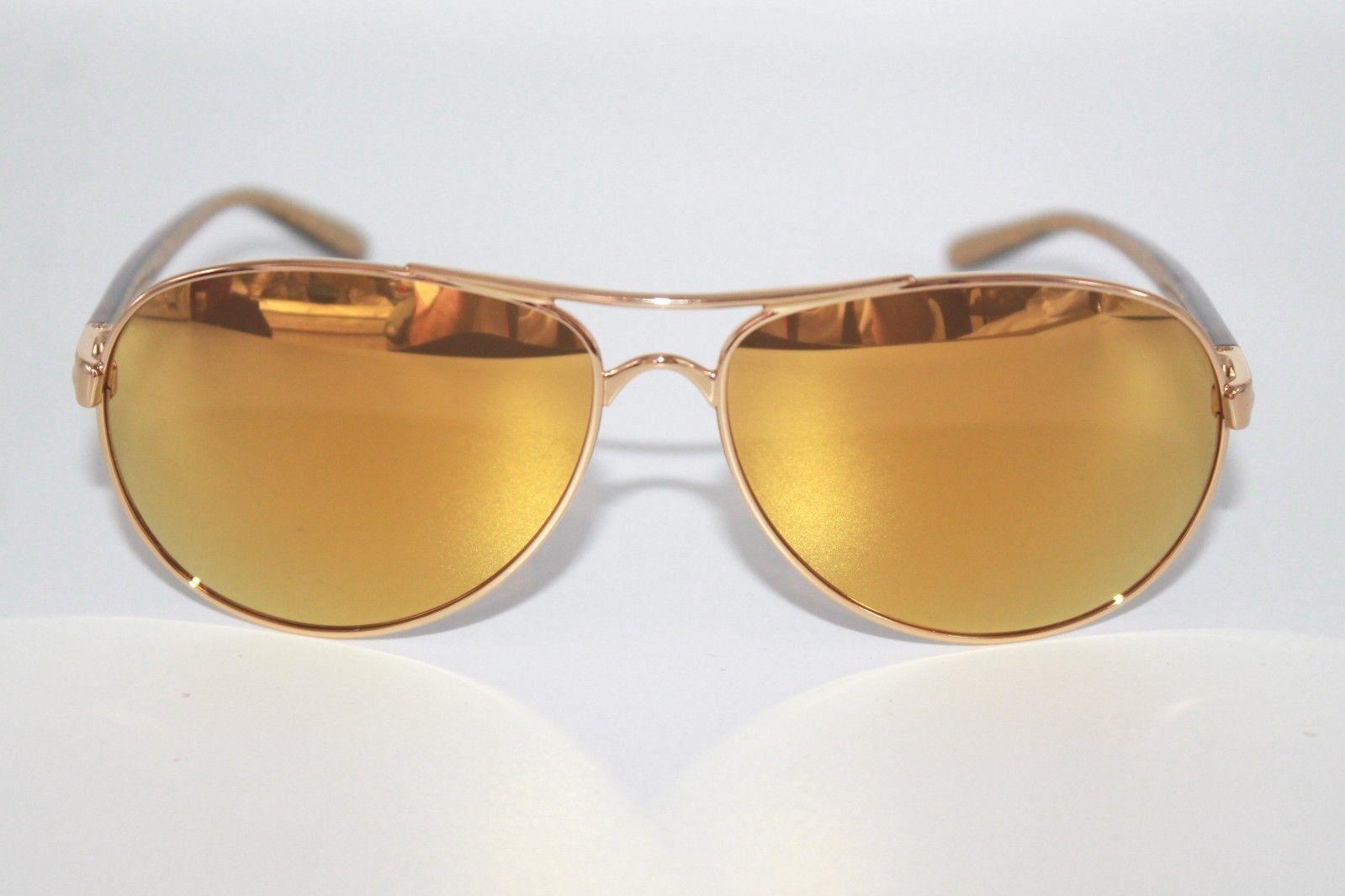 442643323a Oakley Feedback Sunglasses OO4079-28 Polished Gold W  24K Gold iridium Lens