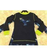 Kirkland Signature Boys 3 Piece Organic Cotton Pajama Blue Dinosaur , SZ 6 - $18.99