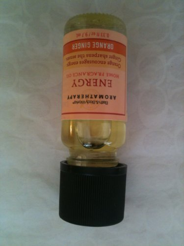Bath & Body Works Aromatherapy Energy Home Fragrance Oil - Orange Ginger, 0.33 F