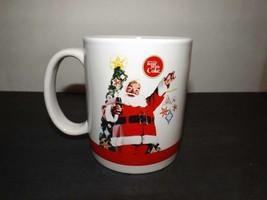 Coca Cola Company Christmas Santa Coffee Tea Mug Cup #4204 Houston Harvest - $12.19