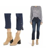 FRAME Le High Straight Snap Away Hem Jeans MERIBEL NWT - $88.99
