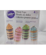New in Box Set of Treat Pops 4 count from Wilton #1793 - $4.84