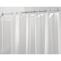 InterDesign PEVA Plastic Shower Bath Liner, Mold and Mildew Resistant fo... - $7.62