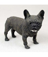 FRENCH BULLDOG FRENCHIE DOG Figurine Statue Hand Painted Resin Gift Pet ... - $17.25