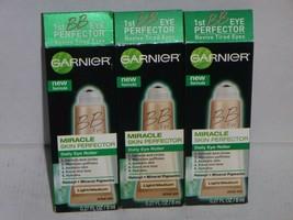 (3 Pack) Garnier Daily Eye Roller Miracle Ski Perfector Light to Medium .27oz - $9.99