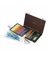 Faber Castell Albrecht Durer Watercolor Pencil Studio Wood Case, Set of ... - $152.17