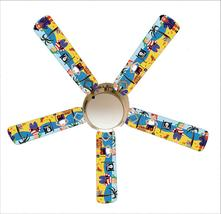 """Little Boys Pirate Island 52"""" Ceiling Fan with Lamp - $118.99"""
