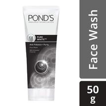 POND'S Pure White Anti-Pollution+Purity Face Wash, 50g  image 3