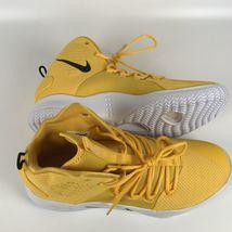 Nike Hyperdunk X TB yellow Men's size 16 Basketball Shoes AT3866 701 image 6