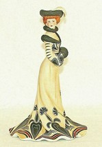 Lenox Victorian Lady Figurine Tea At The Ritz Porcelain Sculpture 1984 V... - $28.66