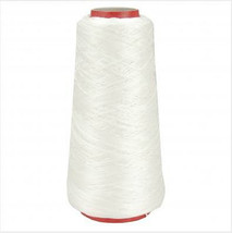 DMC White Floss Thread, 1, Cone of 100g, cross stitch, embroidery, sewing cotton - $21.99