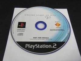 ONLINE START UP DISC V3.0  - PLAYSTATION 2 PS2 - DISC IS MINT - $3.82