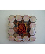 Shadow-box shrine, mother and child - $29.79