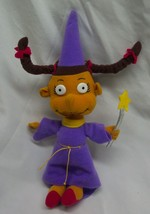 "Vintage 1998 Rugrats SUSIE AS WIZARD 9"" Plush STUFFED ANIMAL Toy Mattel - $18.32"