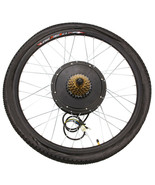 "26"" Rear Wheel Electric Bicycle Bike Motor Conversion Kit Hub Cycling 15... - $455.99"