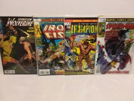 MARVEL 3D LENTICULAR COVERS 3 COVERS IRON FIST, HULK, CHAMPIONS  - FREE ... - $23.38