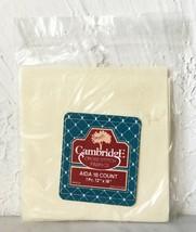 "Cambridge 18 Count Cotton Aida Cross Stitch Fabric - Ivory 12"" x 18"" - $4.70"