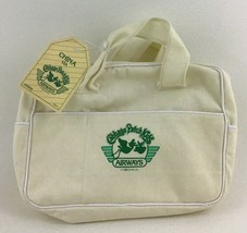 Cabbage Patch Airways Vintage World Traveler Bag Coleco Airplane Luggage 1985 - $12.82
