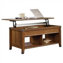 Lift-Top Coffee Table in Washington Cherry Finish - $299.00