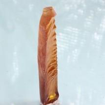 Yellow Sapphire # 22 Lab Created Half Boule Synthetic Flame Corundum 36.... - $71.25