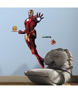 RoomMates Iron Man Peel And Stick Giant Wall Decals With Glow - $12.72