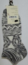 Simply Noelle Cream Tan Black Ankle Socks One Size Fits Most image 2