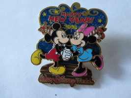Disney Trading Pins 59122 WDW - Happy New Year 2008 - Mickey & Minnie - $14.00