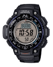 Casio Men's Triple Sensor Compass Watch Black Strap - $99.95