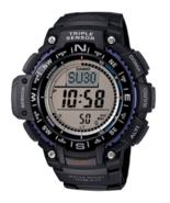 Casio Men's Triple Sensor Compass Watch Black Strap - $99.95
