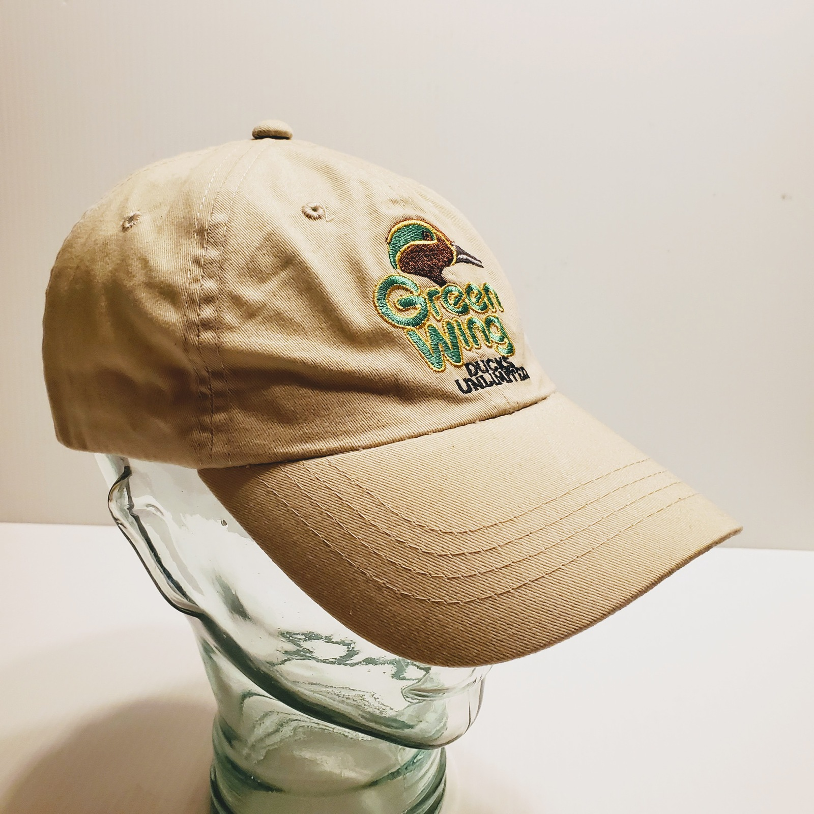Green Wing Ducks Unlimited Adjustable Hat One Size Fits Most. Dorfman Pacific.   image 2