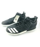Adidas Boost Icon 3 Metal Baseball Cleats Knit Black & White DB1793 Men ... - $46.37