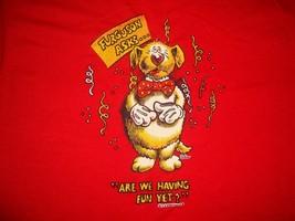 Vintage 80's Ferguson Asks Are We Having Fun Yet ? Dog Comic Cartoon T Shirt M - $20.05