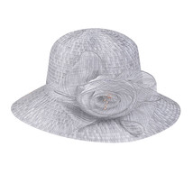 Womail Hat  1PC  Solid Cap Fashion Floppy Foldable Ladies Women Solid Straw Cap  image 3