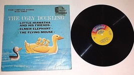 1969 THE UGLY DUCKLING FOUR COMPLETE STORIES WITH SONGS  DISNEYLAND RECO... - $7.92