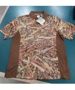 Longleaf Camo Golf Shirt Size Large - $34.99