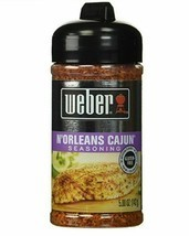 BRAND NEW SEALED Weber N'Orleans Cajun Seasoning Spice Grill Mix Gluten Free 5oz - $13.74