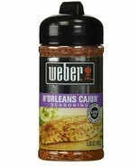 BRAND NEW SEALED Weber N'Orleans Cajun Seasoning Spice Grill Mix Gluten ... - £9.29 GBP