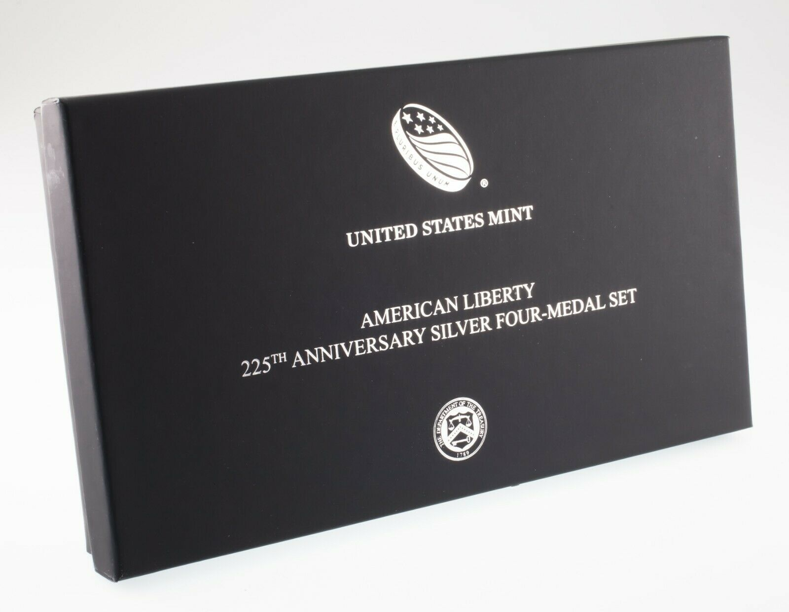 American Liberty 225th Anniversary Silver Four-Medal Set w/ Box and CoA image 2