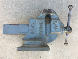 Vintage ATHOL 624 1/2 Swivel Base Bench Vise • 4.5 Inch Jaw - $186.96