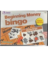 Beginning Money Bingo Active Learning Educational Game for 3 - 36 players - $19.99