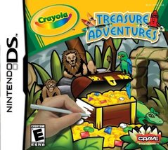 Crayola Treasure Adventures - Nintendo DS [video game] - $9.99