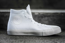 Converse X Nike Flyknit Chuck Taylor All Star Baskets Montantes Blanc - $106.18