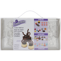 Candy Mold Set-Assorted 69 Cavity (19 Designs) - $16.76
