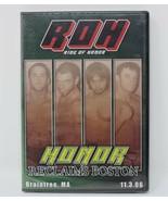 Ring of Honor Wrestling Honor Reclaims Boston Braintree Massachusetts 11... - $16.84