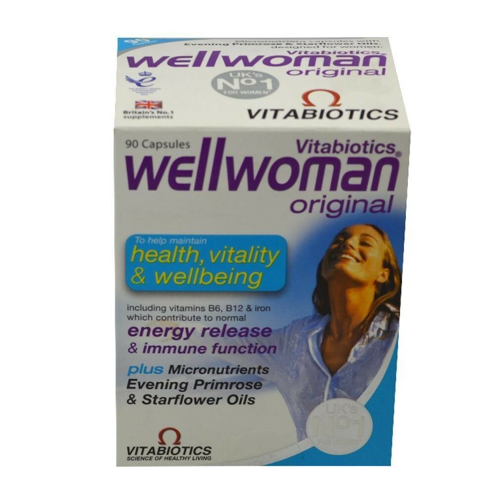 Primary image for Vitabiotics Wellwoman Original Vitamin/Mineral Formula 90 Capsules