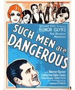 Decoration Poster.Home room interior.Wall room decor.Dangerous Men movie... - $10.89+