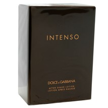 Dolce&Gabbana Intenso After Shave Lotion 125 ML/4.2 Fl.Oz. Nib - $64.35