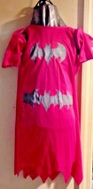Batgirl Youth Costume Superhero SZ Medium Pink 4 piece set  Bat Girl Super Hero - $32.46
