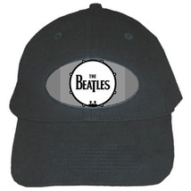 Custom Black Cap THE BEATLES Highest Quality New 100% Brushed Cotton Cap - $19.90