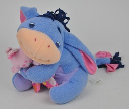 My First Eeyore DISNEY Rattle LOVEY Plush FISHER PRICE Winnie POOH Clean... - $14.80